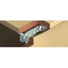 Фурнитура для раздвижных деревянных дверей внутреннего крепления для 2х дверных полотен