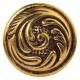 Ручка Ferro Fiori CL 7070.01 античное золото