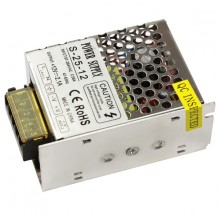 8541.40.90.00 Блок питания для LED, 25W, 12V, IP20, метал. корпус