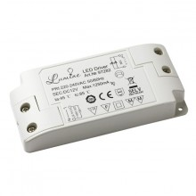 8541.40.90.00 Блок питания для LED, 15W, 12V, IP20, пластик. корпус