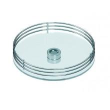 Полка центральная с прозрачным пласт. 360 мм