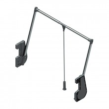 Лифт пантограф 800-1150х140х850, серый / хром на 15 кг
