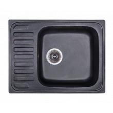 Мойка Fosto 64x49 без сифона 420 черный