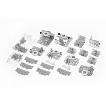Комплект фурнитуры SLIDO CLASSIC 50 VF SR для 3-х дверных полотен толщиной 19-21мм