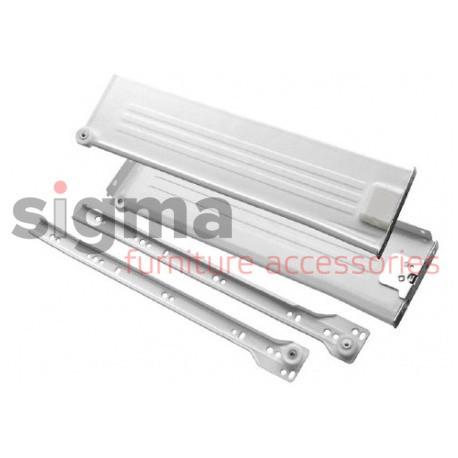 Металлбокс 150 mm l-450 белый Sigma