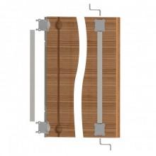 Металлический выпрямитель двери
