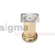 Ножка мебельная нерегулируемая Sigma D-50 золото