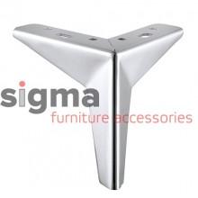 Ножка мебельная FL 153 хром