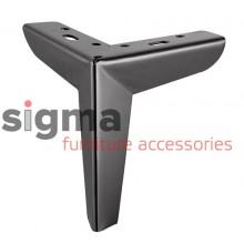 Ножка мебельная B 301 черный матовый