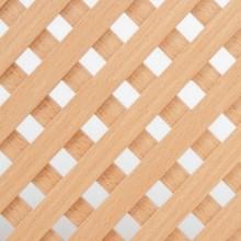 Решетка декоративная 620х300 мм бук