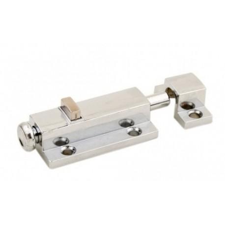 Шпингалет кнопка М 01-40 хром