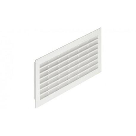Решетка вентиляционная пластмасса белая 299x120 мм