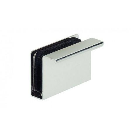 Ручка к магниту 40 х 23 мм для стекла 4 - 6 мм чорная
