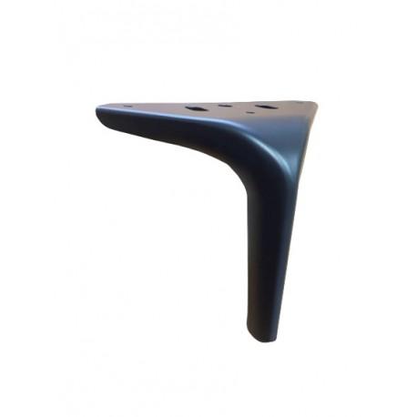 Ножка мебельная N 150 черный матовый
