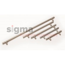 Ручка рейлинговая С-448 mm L-188 mm хром