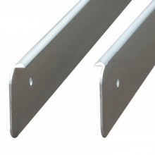 Заглушка для столешницы 38 мм левая тип R-3 для столешниц Egger