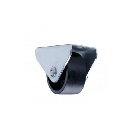 Ролик мебельный не поворотный Sigma d-25 мм