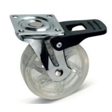 Колесо мебельное GTV SHIFT KM-BH75MM-00 с тормозом