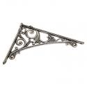 Полкодержатель Bosetti Marella D 42430.200 античное серебро