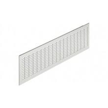 Вентиляционная решетка, алюминиевая, цвет серебряный 480x 80мм
