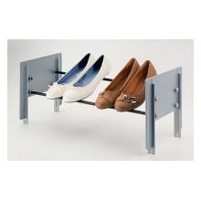 Полка для обуви CIP 580-900 мм, цвет алюминий