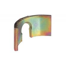Сегмент который упирается для стяжки D35 мм, сталь желтая хромированная