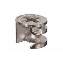 Корпус стяжки MINIFIX без бурта цинковый без покрытия 9.5мм D12мм толщина детали 12мм