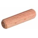 Дюбель-шкант 8х40 мм, буковый