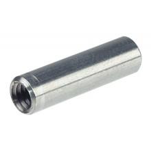 Втулка М4 5х15 мм, сталь, оцинкованная