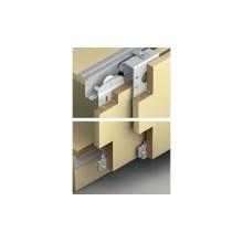 Комплект фурнитуры SLIDO CLASSIC 50 VF SR для 2-х дверных полотен толщиной 19-21мм