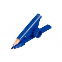 Устройство для черчения параллельных линий, синий