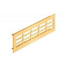 Решетка вентиляционная 1000х100 мм, алюминий, золотистый
