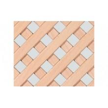 Декоративная решетка 1200х600 мм, клен