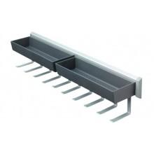 Держатель универсальный бытовой сталь/пластик 108 х 465 х 115 мм