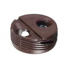 Корпус стяжки TOFIX для толщины плиты 18-25мм, пластик, белый
