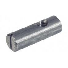 Поперечный болт М6, D10х14 мм, эксцентричный, сталь