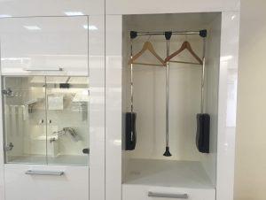 Пантографы (гардеробные лифты), мебельные петли